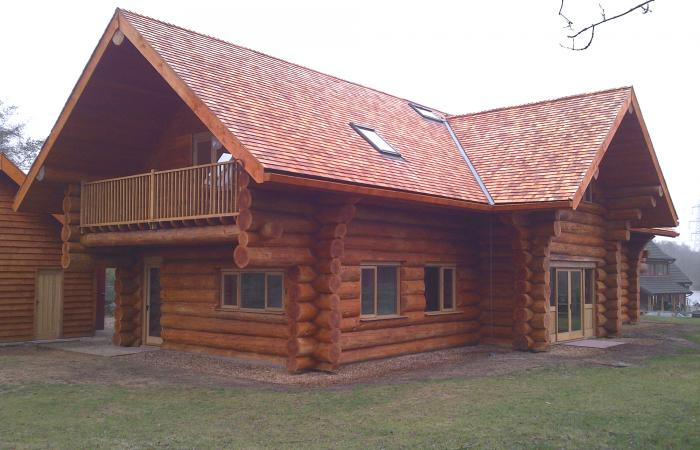 Log cabin smg architects for Log home architects