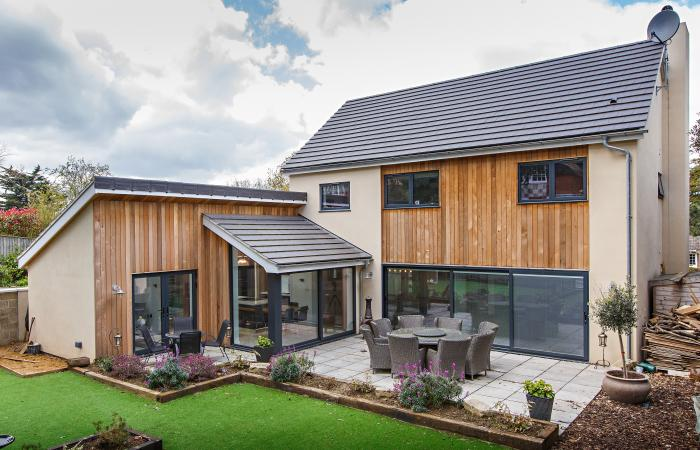 New Build Sheringham on Elevated Contemporary House Exterior Design