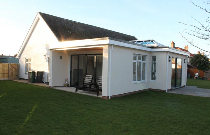 Bungalow Extension And Alterations 187 Smg Architects